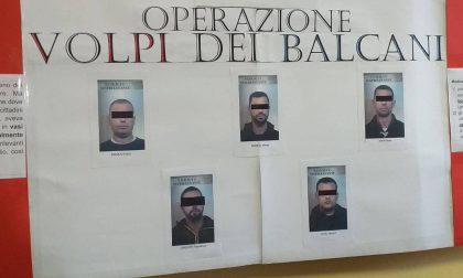 Sestri Levante, operazione Volpi dei Balcani