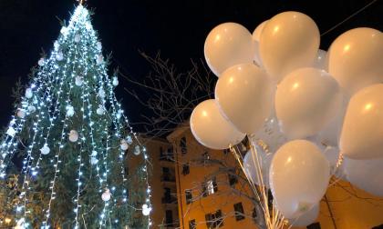 A Certosa un albero con 43 palline per ricordare le vittime del Ponte Morandi