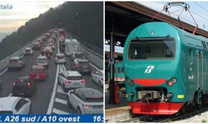 Autostrade e trasporti in tilt, Toti annuncia misure urgenti, ma Lunardon e Rossetti incalzano: «La Regione non ha fatto niente per evitarlo»