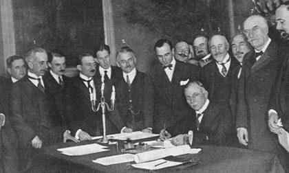 """Una proposta al Ministero per l'emissione di un francobollo celebrativo del """"Trattato di Rapallo"""""""