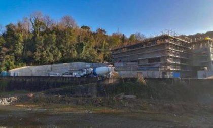 Depuratore di Rapallo: il cantiere è in ritardo