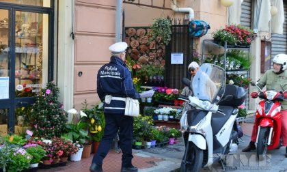 In giro senza mascherina, giro di vite sulle multe a Rapallo