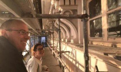La rinascita di un gioiello, i lavori a Palazzo Rocca