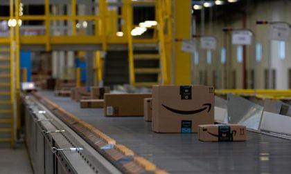 Lavoratori di Amazon in sciopero