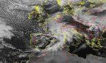 Confermata allerta gialla per piogge diffuse e temporali: nuova scansione oraria