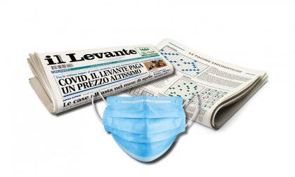 Questa settimana una mascherina insieme al Nuovo Levante