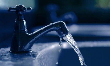 Chiavari, oggi acqua sospesa in queste vie
