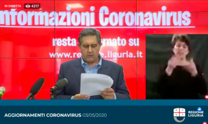 Toti: «Il virus circolava in Liguria già da dicembre»