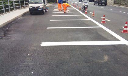 A Carasco nuovo asfalto e parcheggi