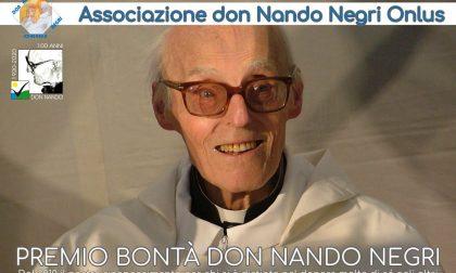 """Il premio Bontà """"Don Nando Negri"""" assegnato a Diego De Martini"""