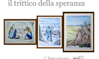 """""""Il trittico della speranza"""", l'ultimo lavoro di Ugo Rocca"""