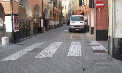 Parte la pedonalizzazione di Lavagna centro e Cavi Borgo