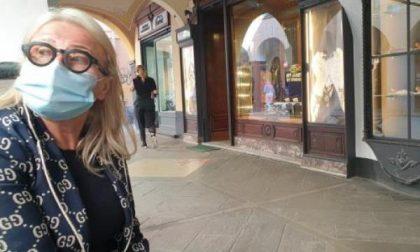 I negozi del centro storico della città rischiano di chiudere per sempre