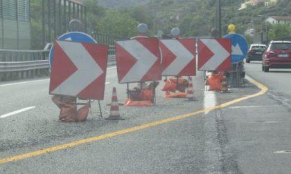 Autostrade: le prossime chiusure