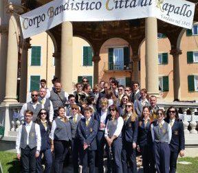 """Open day della Banda """"Città di Rapallo"""" al Chiosco della Musica"""