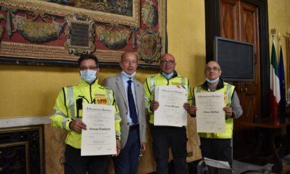 Premiati in Prefettura gli eroi del Ponte Morandi