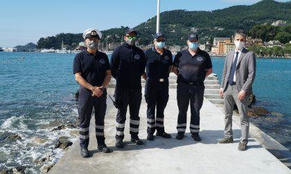 Santa Margherita affida alla Guardia Costiera Ausiliaria i controlli sulle spiagge
