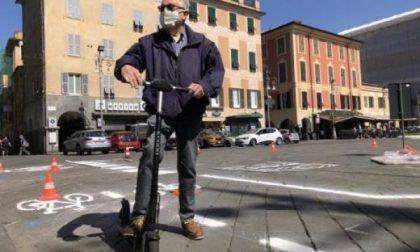 Tutte le novità per le piste ciclabili, piazza Gagliardo resta pedonale
