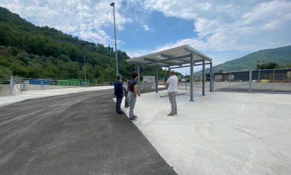 Consegnato ad Amiu il nuovo Ecocentro di via della Né