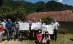 Manifestazione dei genitori per salvare l'Istituto Marsano