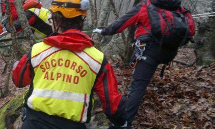 Soccorsi due escursionisti sul monte Ramaceto