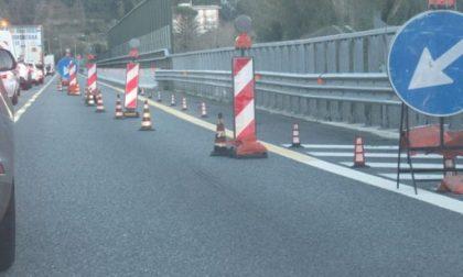 Autostrade, la Regione chiede un piano per sospendere i lavori nelle festività