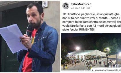 """""""Toti buffone, siete rumente"""" bufera sul presidente Anpi Mazzucco"""