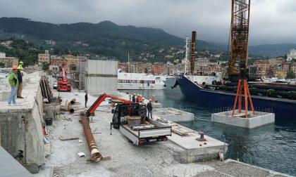Porto di Santa Margherita Ligure, proseguono i lavori