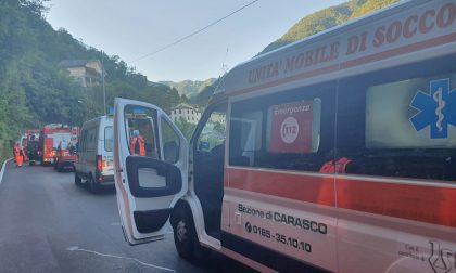 Grave incidente a Castagnelo di Lorsica