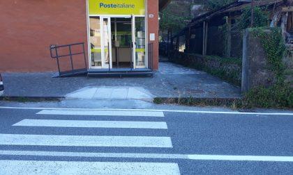 Abbattute le barriere architettoniche nell'ufficio postale di Mezzanego