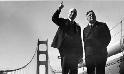 Il Comune di Ne ricorda il suo sindaco di San Francisco che inaugurò il Golden Gate Bridge