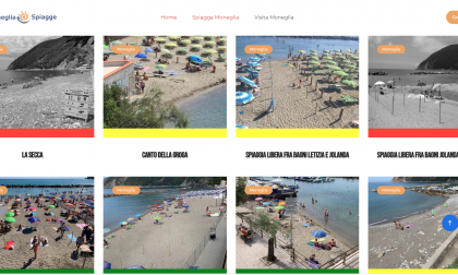 Spiagge e distanziamento, online anche a Moneglia il sito per conoscere i posti liberi