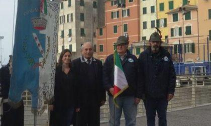 Lutto a Sori, è scomparso l'alpino Remo Naretti