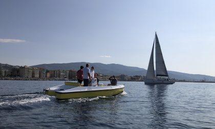 Best 6.0, la prima e-boat italiana presentata e testata a Calata Ovest