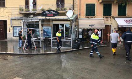 Allagamenti in piazza Vittorio Veneto