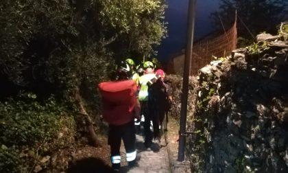 Si frattura una caviglia durante un'escursione, interviene il Soccorso Alpino a Zoagli