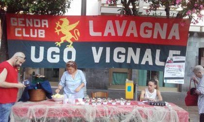 Genoa Club Lavagna, la consegna del premio a Roberto Folli