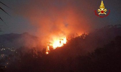 Notte d'inferno a Casarza Ligure