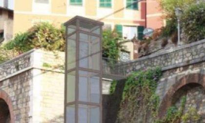 Camogli, ripartono i lavori per l'ascensore pubblico