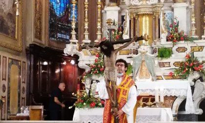 Il Santissimo Crocifisso di Borzonasca lascia la parrocchia per essere restaurato