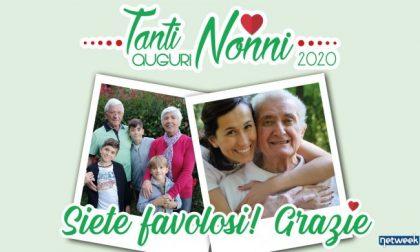 Tanti auguri nonni, ultimi giorni per inviare gli auguri