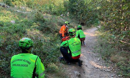 Escursionisti in difficoltà, gli interventi del Soccorso Alpino