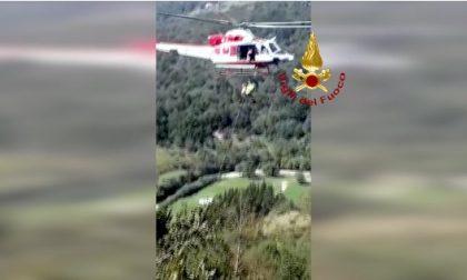 Picchia la testa dopo la caduta a Cabanne, soccorsa dai Vigili del fuoco di Chiavari