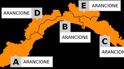 Torna il maltempo, domani allerta arancione in tutta la Liguria