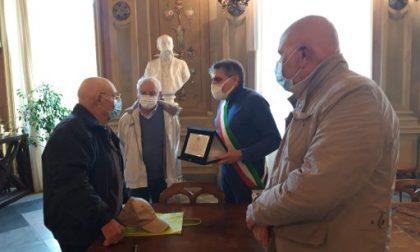Camogli, la festa in Comune per il centenario Ettore Valcavi