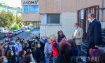 Studenti e genitori del Luzzati in protesta per l'orario