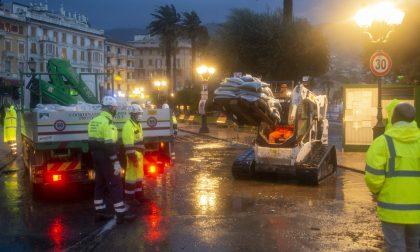 Rapallo, partiti i primi lavori dopo la mareggiata