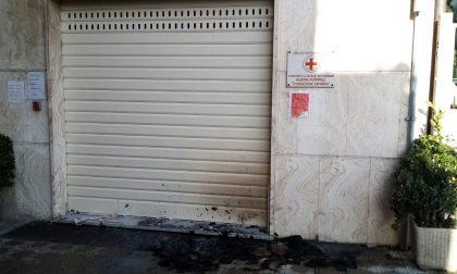 Attentato incendiario alla Croce Rossa di Chiavari