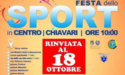 Maltempo, rinviata ancora una volta la Festa dello Sport