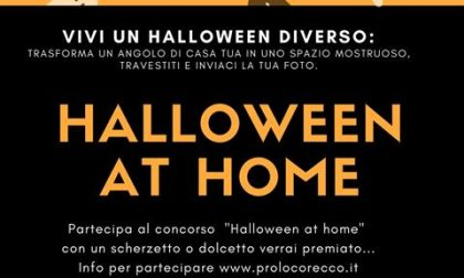 Niente feste in strada, a Recco Halloween è… at home
